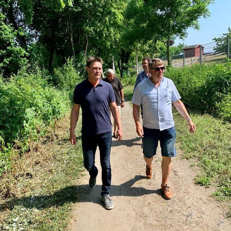 Michael Robien Bürgermeisterkandidat Lensahn 2021 Wald